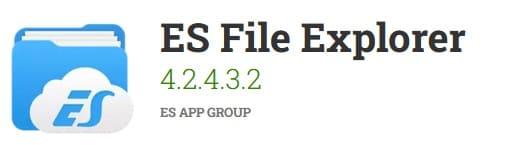 Como Baixar Vídeo do Facebook para o WhatsApp com ES File Explorer