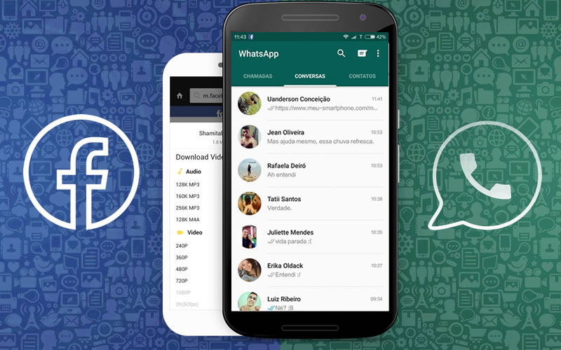 Como Baixar Vídeo do Facebook para o WhatsApp