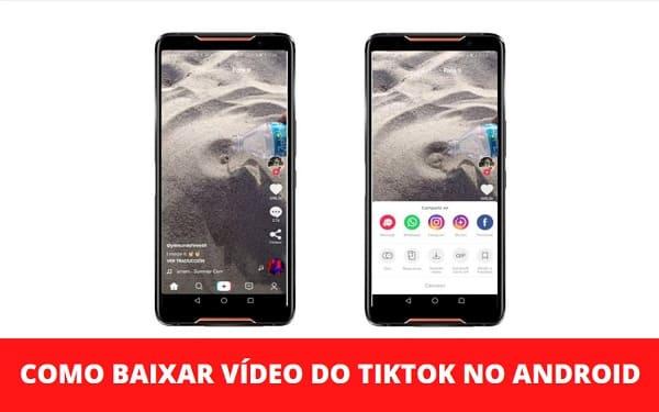 Como Baixar Vídeo do TikTok no Android