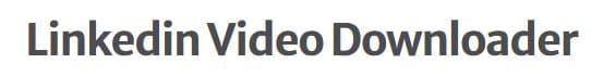 como baixar vídeos do linkedin no celular