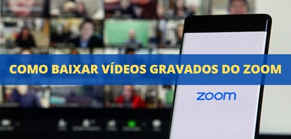 como baixar vídeos gravados do zoom
